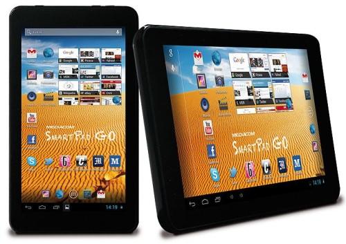 Nuovo tablet android 4.2 da sette pollici di diagonale di Mediacom con chipset dual core a basso consumo