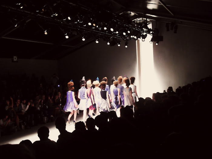 it's cohen - UK style blog: london fashion week, lfw, SS13, somerset house, bora aksu, catwalk, modern garden