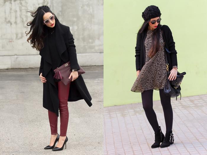 Resumen de los looks de Febrero de blogger de Valencia WOWS