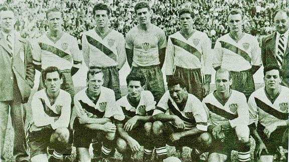 1950 Football World Cup winning Team