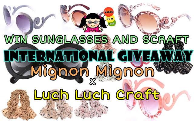 INTERNATIONAL GIVEAWAY: Mignon Mignon x Luch Luch Craft