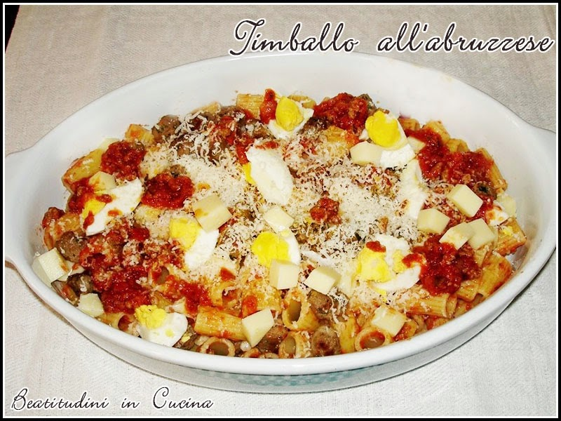 timballo all'abruzzese