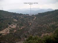 La Collada de Mansa des del Castell de Taradell