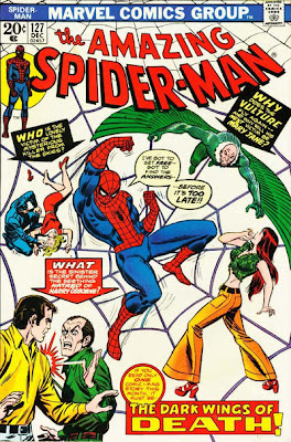 Amazing Spider-Man #127, the Vulture and Mary Jane Watson