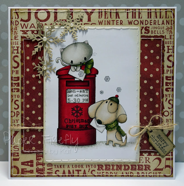 Christmas postbox card (ADU image)