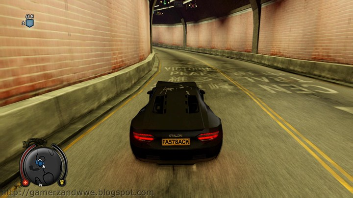 Sports car in sleeping dogs