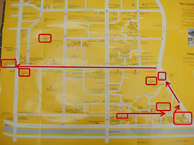 Musings Of MissyNandar Mr Missy In Korea Day May - Jeongju map