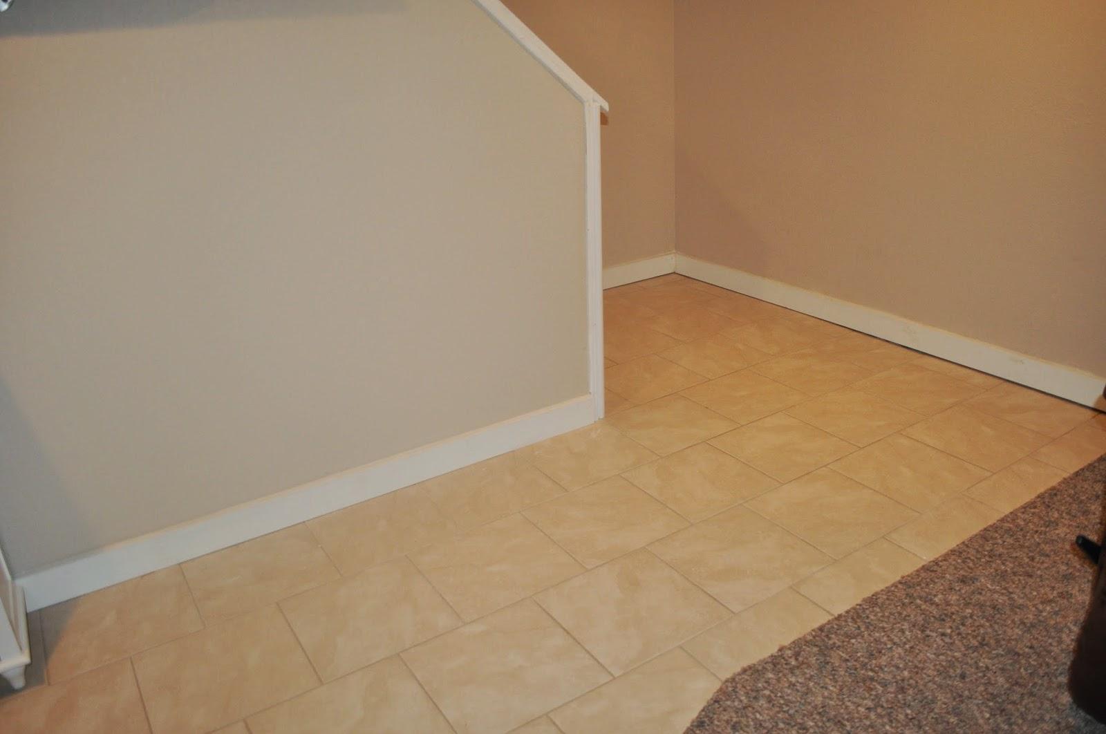 basement, menards, paint, organization, rec room, peel and stick tile, diy, basement project, finished basement