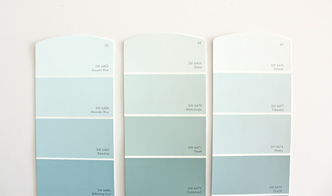 Guest room makeover part 1 just chip it made everyday for Watery paint color
