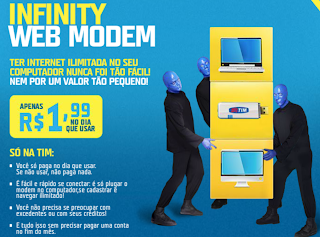 TIM INFINITY WEB MODEM-FIKDICA