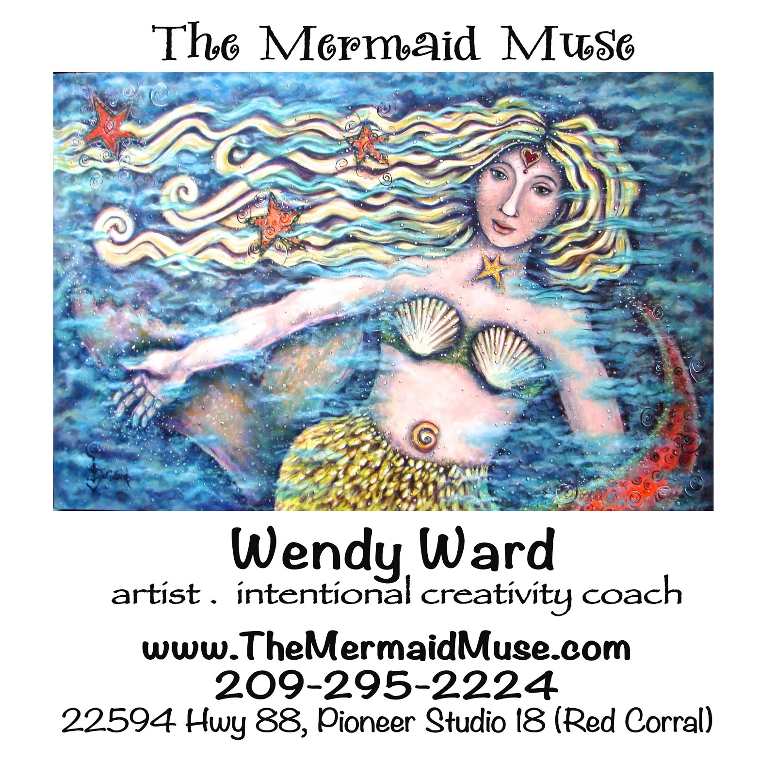 The Mermaid Muse - Wendy Ward
