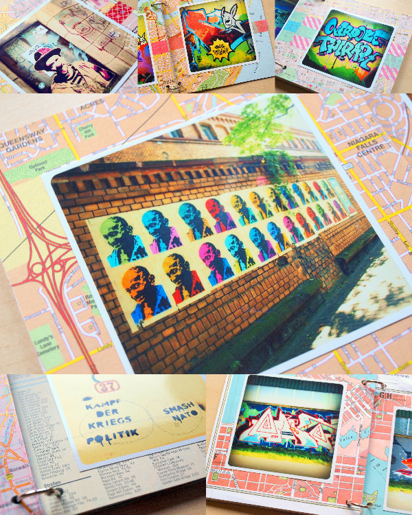 streetart minialbum details by momentstolivefor