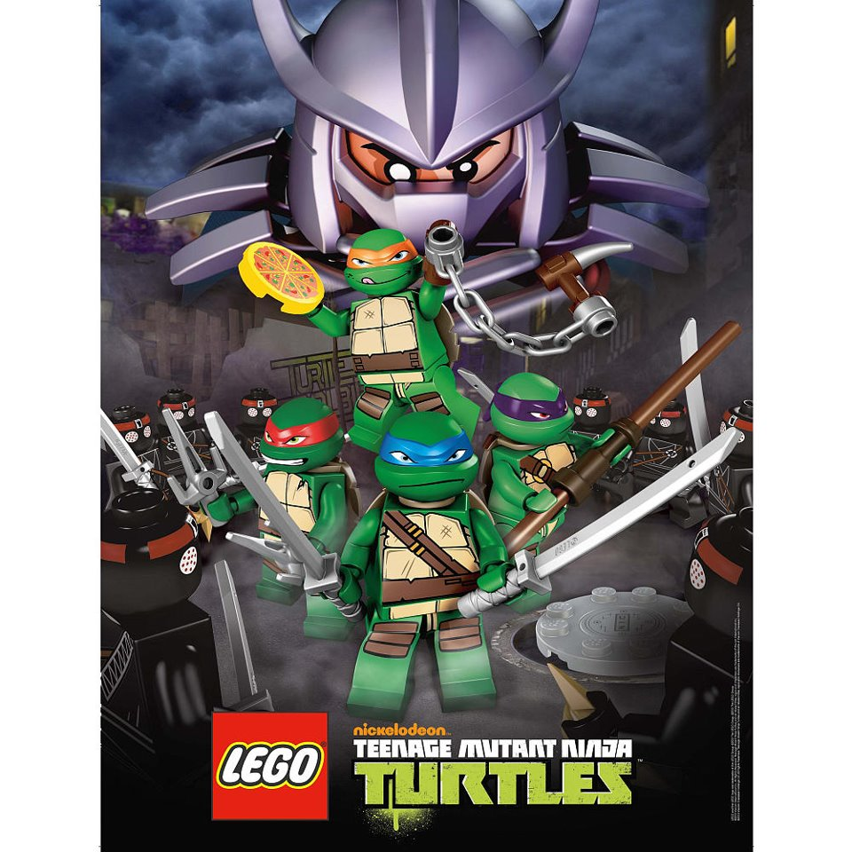 Lego Teenage Ninja Turtles Toys : Back to the box lego teenage mutant ninja turtles