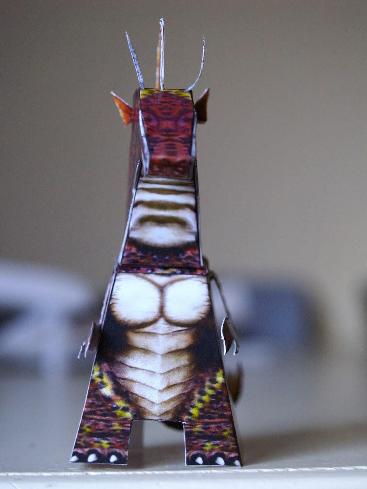 Titanosaurus Paper Toy