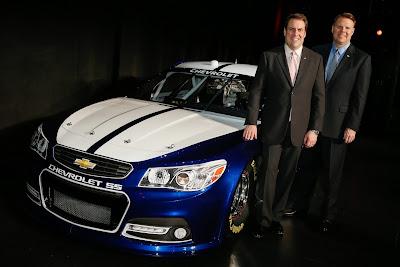 2013 Chevrolet SS NASCAR