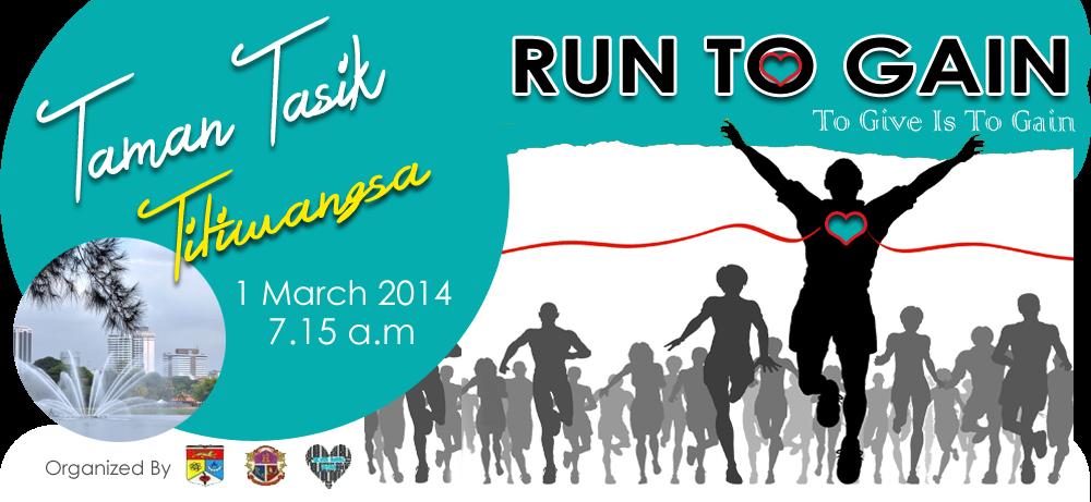 GAIN Gema Amal Insan | Larian Tasik Titiwangsa | Run To GAin