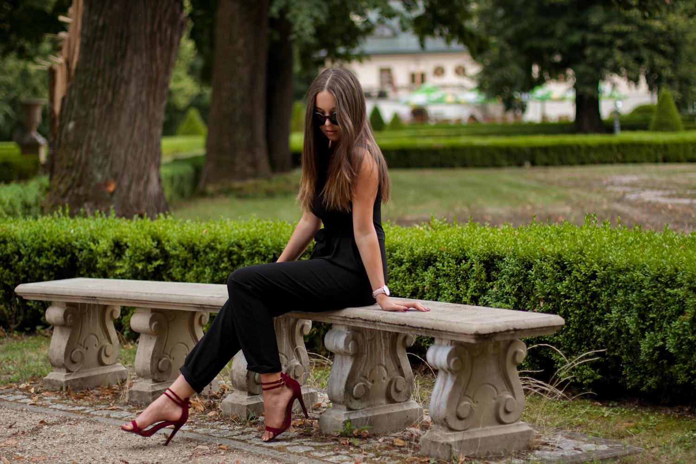 sandały na szpilce bordowe czasnabuty