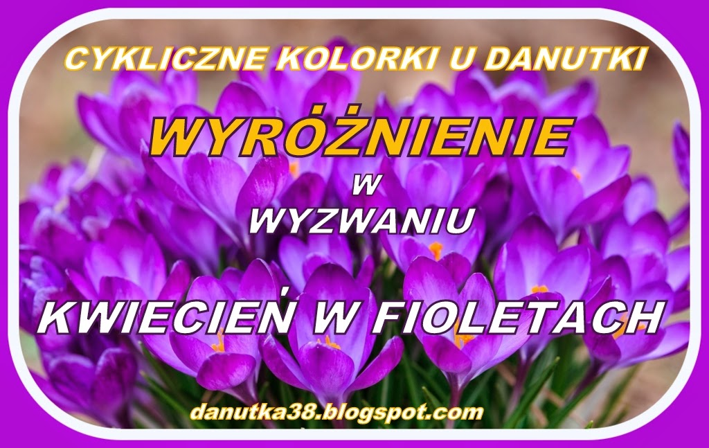 Fioletowe wyróżnienie