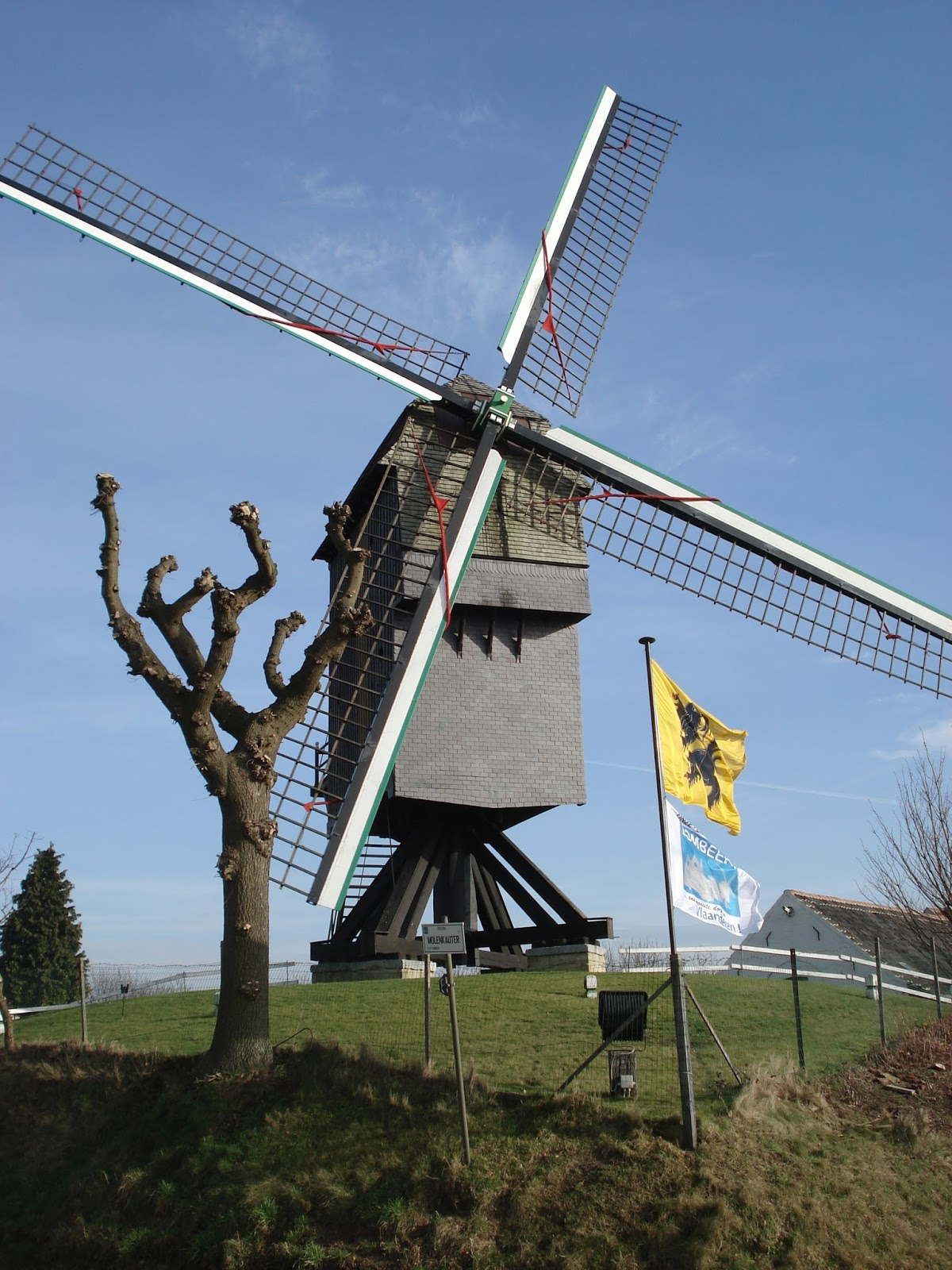 "de ""Zepposmolen"" in OLV-Lombeek (Roosdaal)"