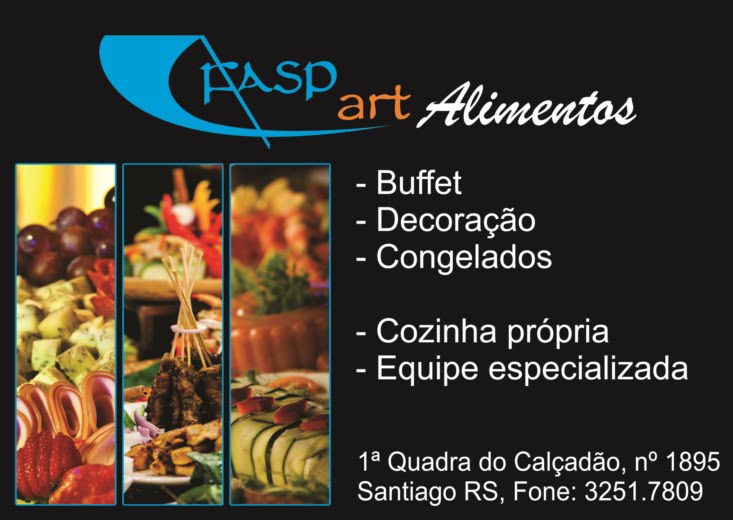 Fasp Art Alimentos, Buffet e Decoração