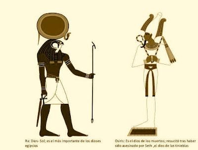 Horas, dios de los misterios