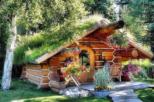 Tiny home big garden would suit me fine & Not Buying Anything: I Could Live In A Tent