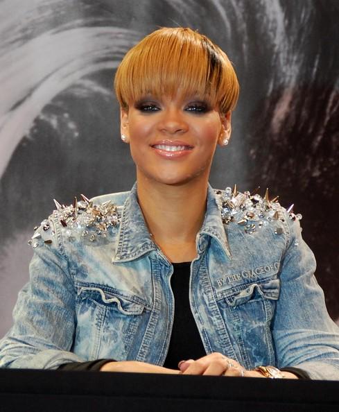 Rihanna haircuts