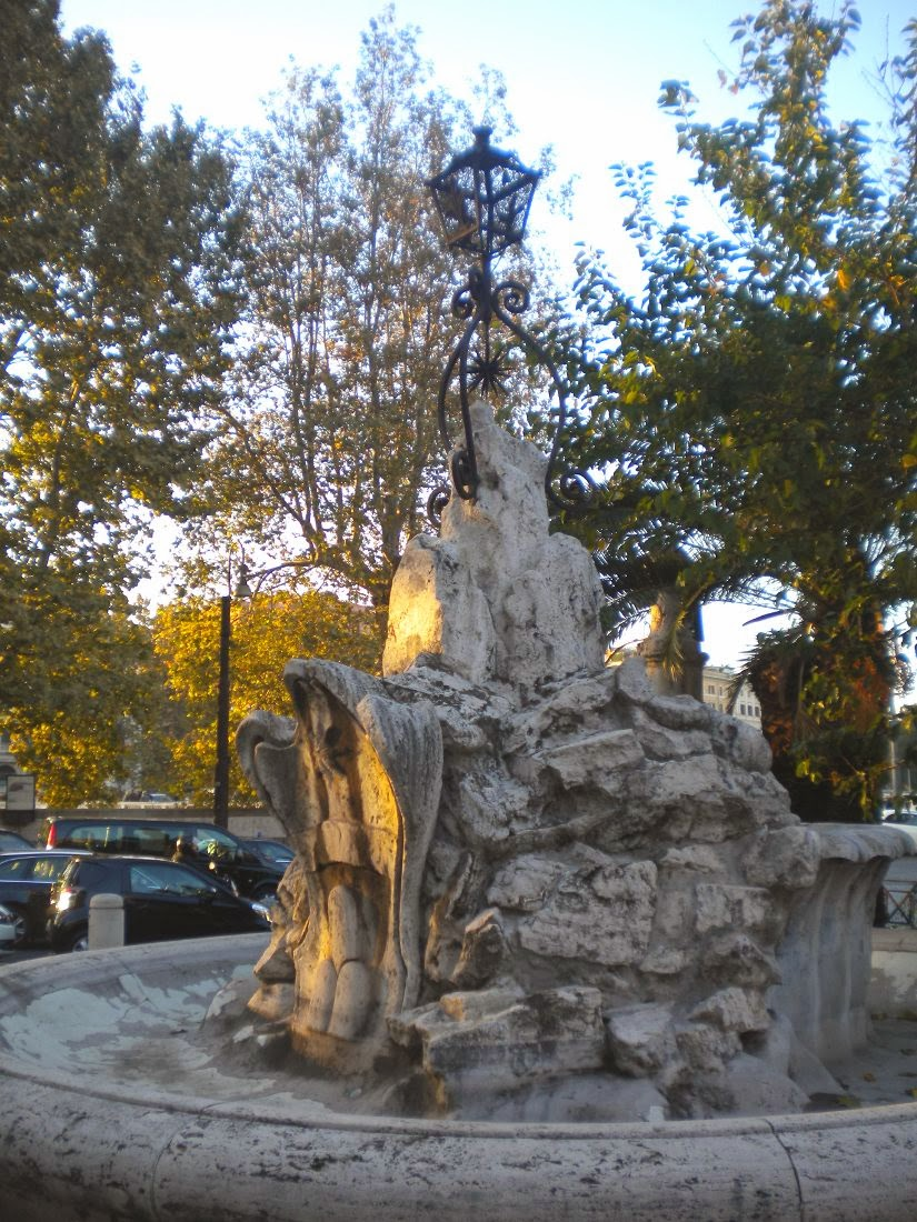 La fontana del porto di Ripetta