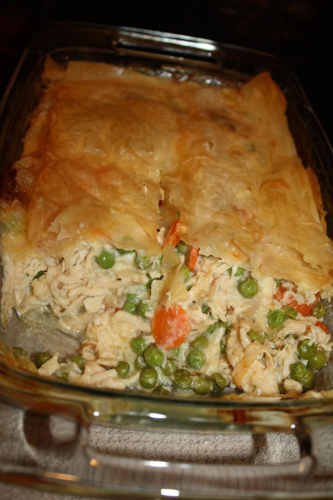 Lighter Chicken Pot Pie Recipes — Dishmaps