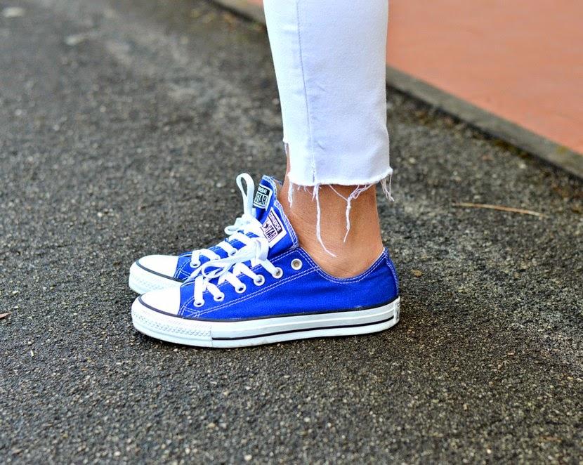 converse donna blu elettrico