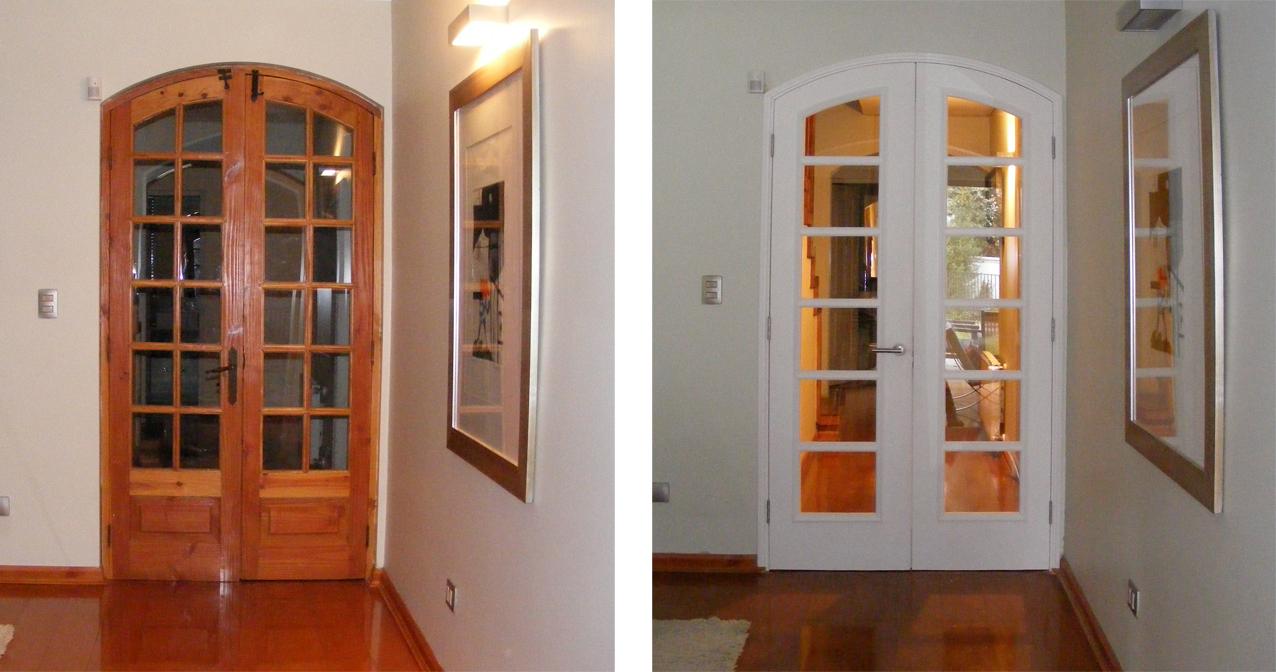 Puertas comedor stunning aparador colonial puertas bora - Puertas para comedor ...