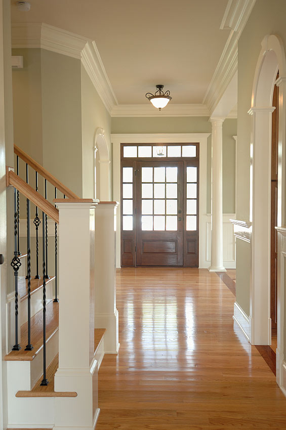 Foyer Window Molding : Eat sleep decorate adding character to your home molding