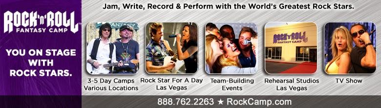 Best Music Gift For Musician | Rock N Roll Fantasy Camp |