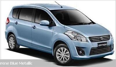 Perbedaan Suzuki Ertiga GA GL GX