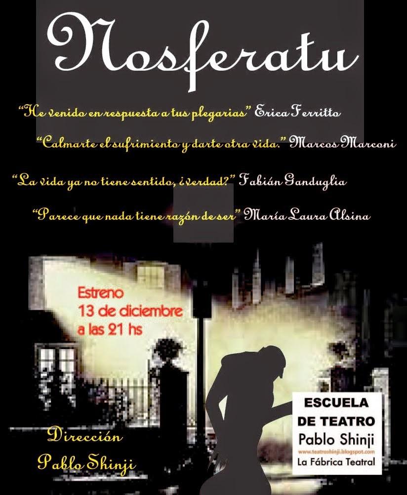 """""""NOSFERATU"""" de Griselda Gambaro"""