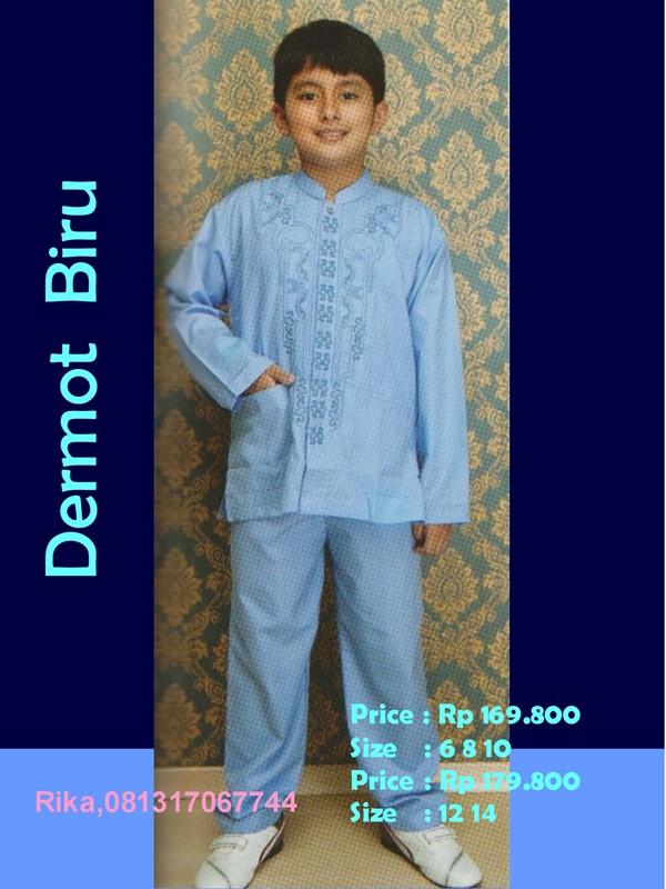 Baju Muslim Anak Laki Laki Terbaru Untuk Lebaran 2012