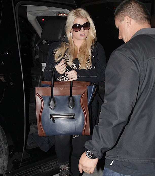 celine designer bag 8479  Jessica Simpson Celine Luggage Bag