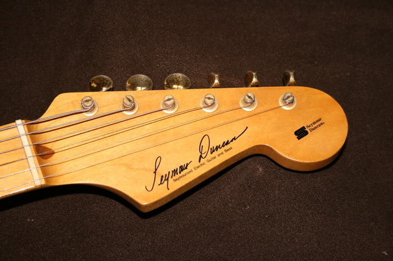 ESP Navigator Seymour Duncan Professional S-Type ~ Stratocaster ...