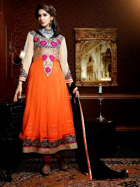 Neeza Indian Party Wear Dresses 2014
