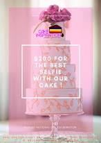 SELFIE CONTEST $200 TOP PRIZE + 5 CAKES GIVEAWAY