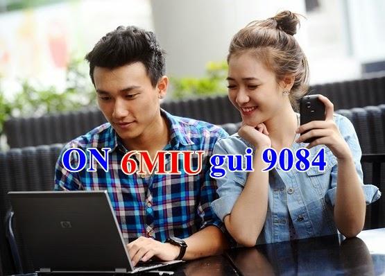 Đăng ký 3G gói 6MIU của Mobifone tặng 2.16 Gb dung lượng