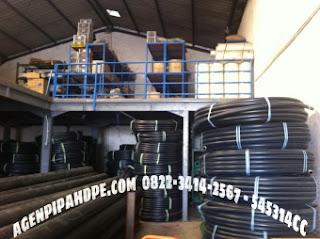 Distributor Pipa Wavin, PVC dan HDPE Surabaya - pipa hdpe-wavin-black-pe-100-110
