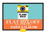 Jabong :Get 8% off & 5% cashback , Sale Starts 5.00 PM today