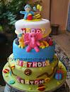 Birthday Tier Cake (Fondant)