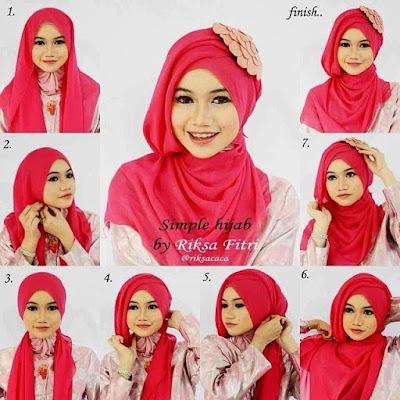 Tutorial Hijab Paris Untuk Wisuda Terbaru