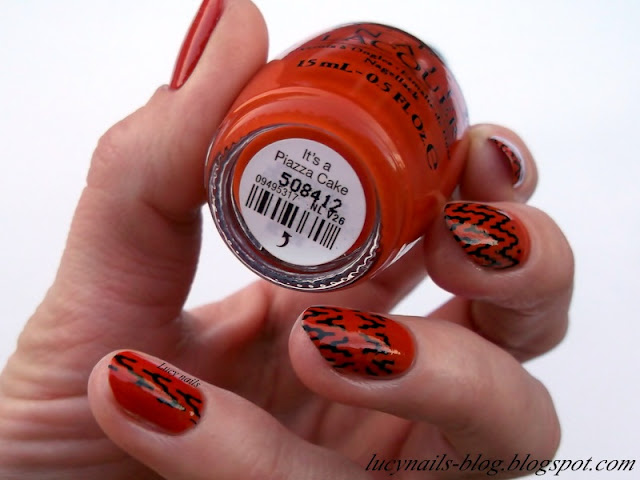 OPI Nail Lacquer It's a Piazza Cake