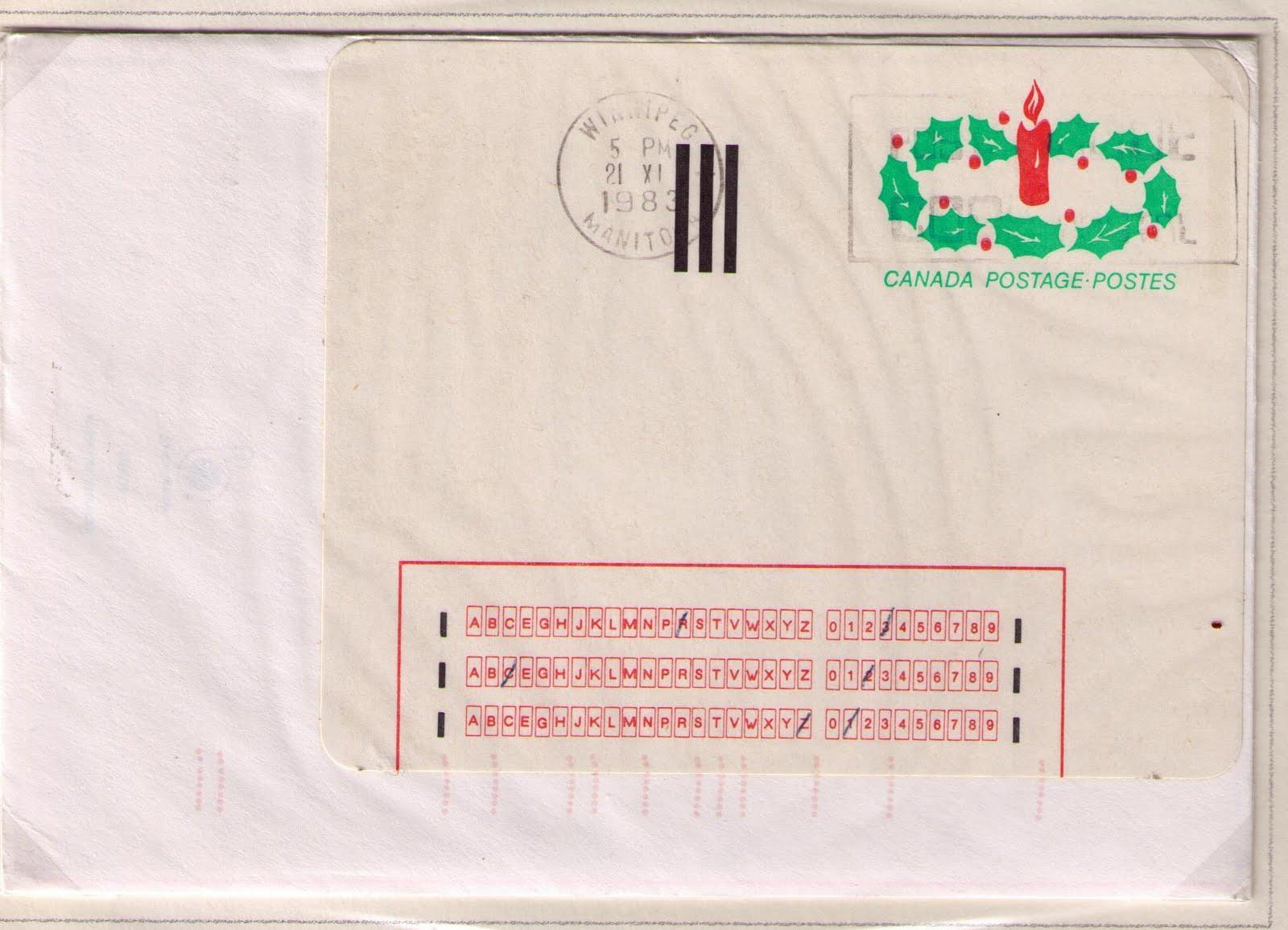OCR Coding Postal History Corner