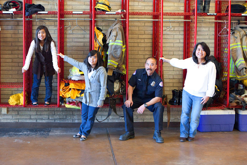 Family Portrait, Firestation 19 long Beach