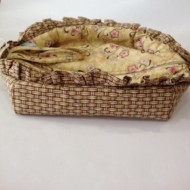 Porta pão em tecido com zíper | @ateliemadrica