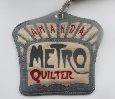 metroquilter paris metro name tag